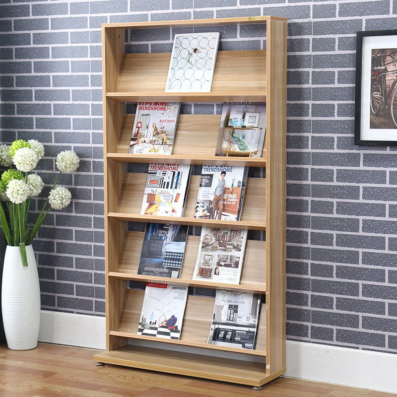 No & Simple and ultra-thin childrenu0027s bookcase bookshelf magazine storage ...