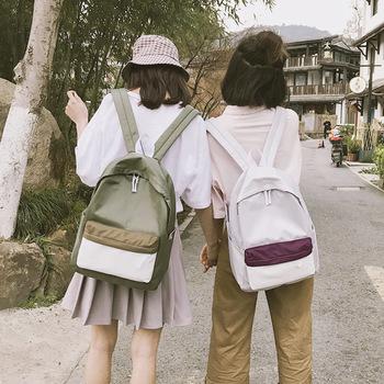 校园风双肩包韩版大容量电脑背包