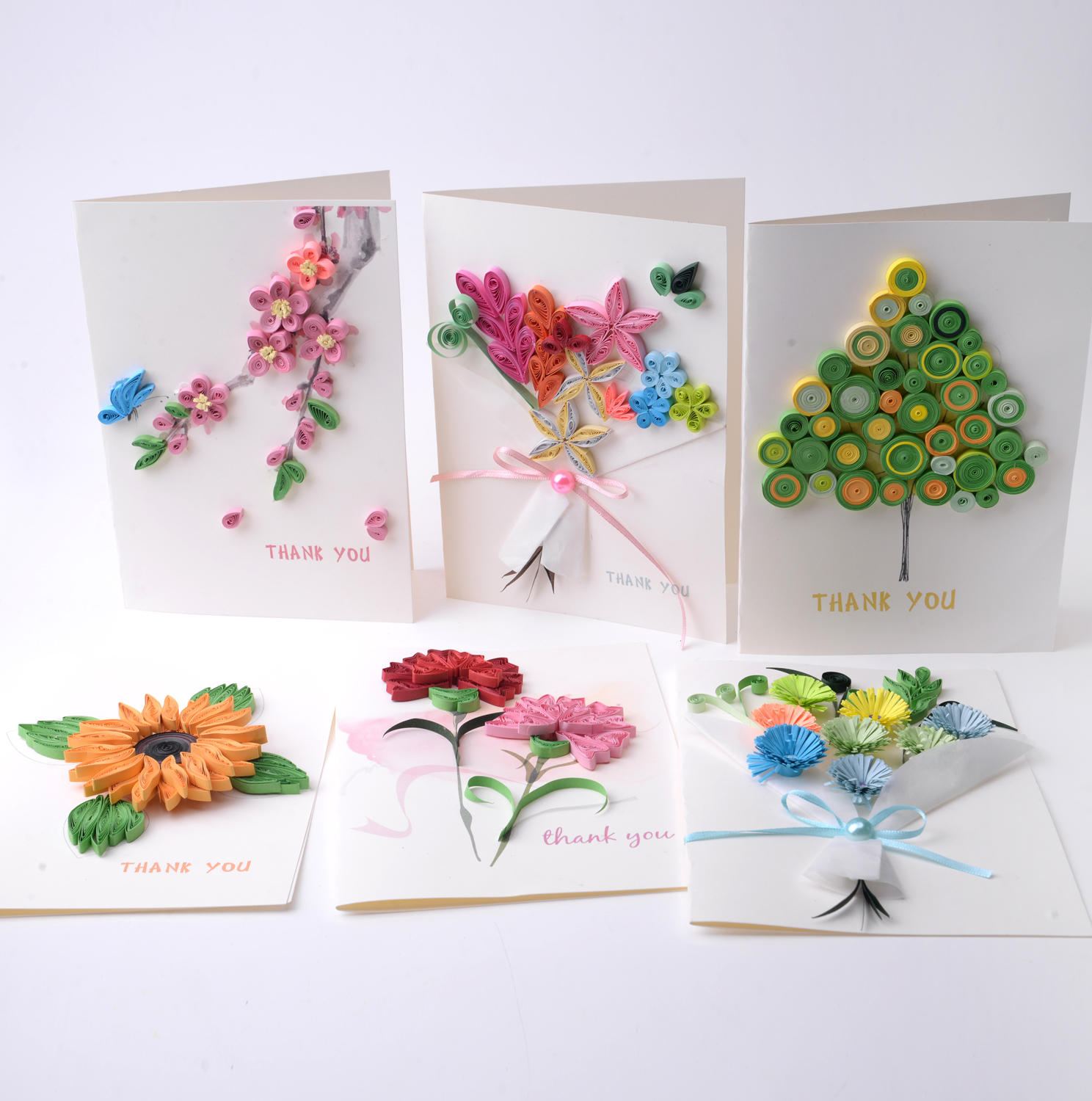 Usd 5 87 New Year To Send The Teacher Diy Carnations Paper Greeting