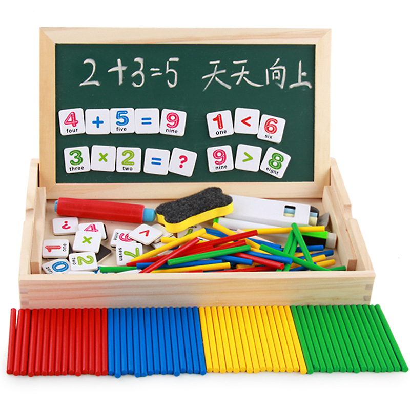 USD 10.61] Children math AIDS arithmetic magnetic multi-function ...