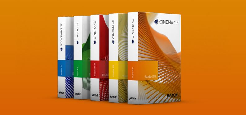 Cinema 4D Studio R19 中文破解版 Win/Mac