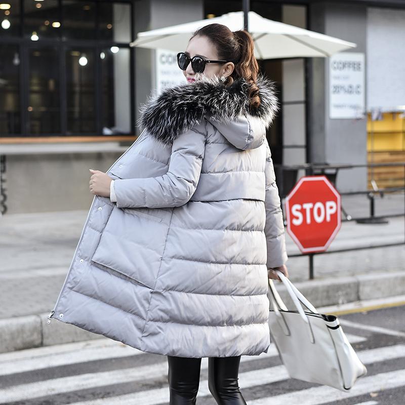 2016冬装保暖羽绒服女修身显瘦大码中长款加绒加厚韩版棉衣潮