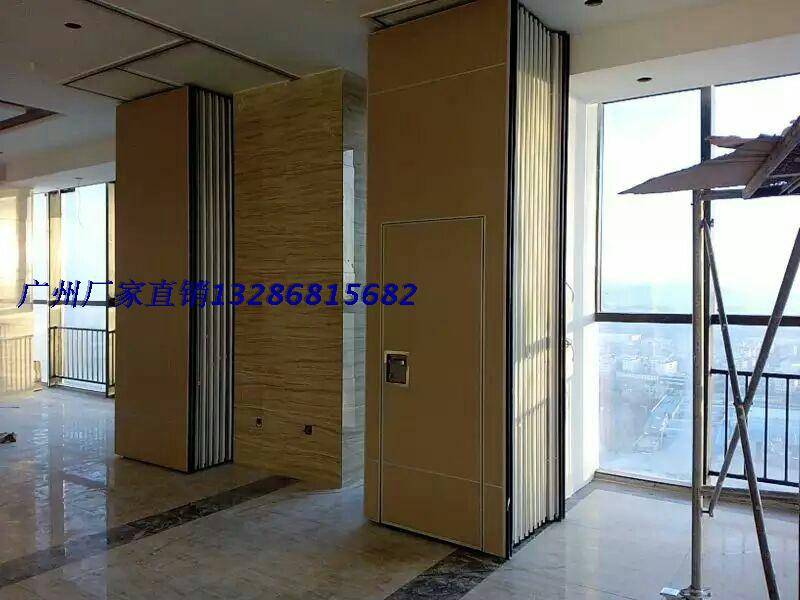 Hotel activity partition Soundproof folding doors movable walls shrink screen partition room partition rail sliding door & USD 29.82] Hotel activity partition Soundproof folding doors movable ...