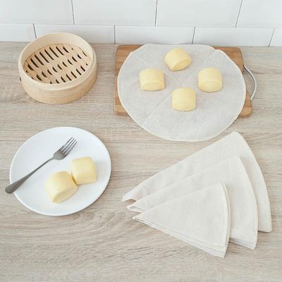 蒸笼布馒头垫不粘蒸笼垫圆形屉布C123 厨房蒸包子用的笼垫子蒸布