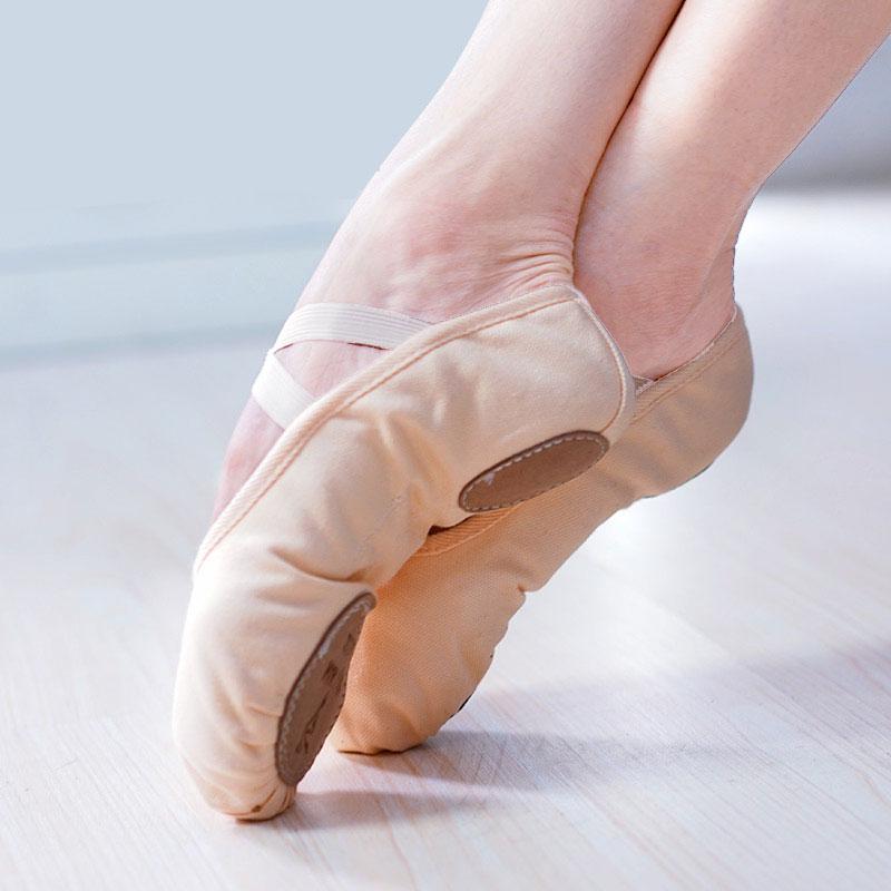 丹诗戈芭蕾舞鞋儿童舞蹈鞋女软底练功鞋成人艺考跳舞形体鞋猫爪鞋