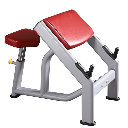 Yulong Gym Commercial Biceps Training Stool Fitness Chair Priest Stool Commercial Strength Fitness Equipment