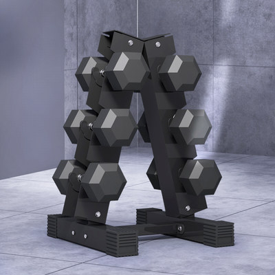 Yulong household type A dumbbell rack professional commercial fitness equipment fitness suit dumbbell support rack