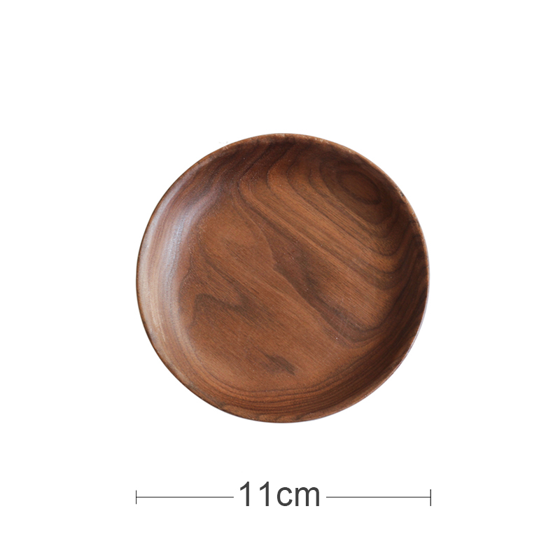 [MINI] BLACK WALNUT ROUND DISC (11CM IN DIAMETER)