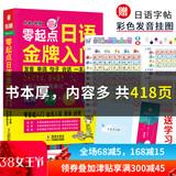 含五十音图零起点日语入门教材日语 劵后9.6元包邮