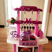 Berns's kitchen toys, girls, cooking, cooking, toy sets