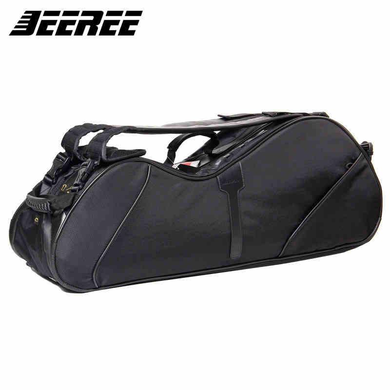 双肩羽毛球包专业羽球黑色正品男6支装单肩多功能背包羽毛球拍包