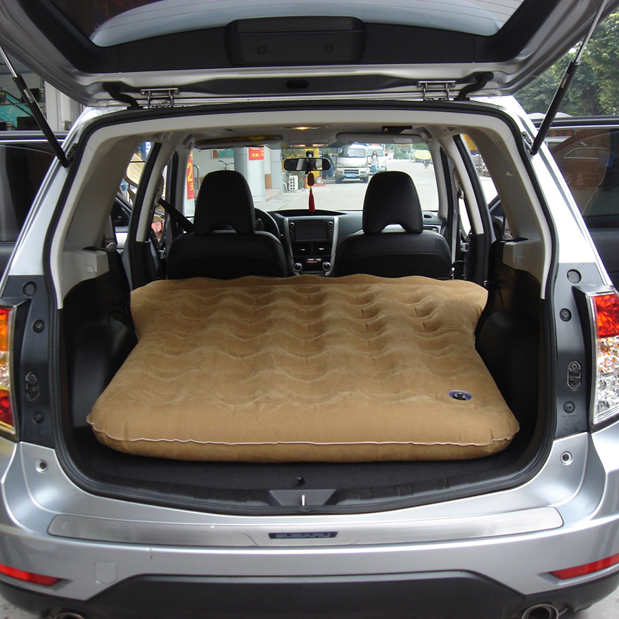 Forest man car Inflatable bed proud Tiger Vehicle air cushion bed Chi Peng Car mattress back row travel Bed XV car Shaker