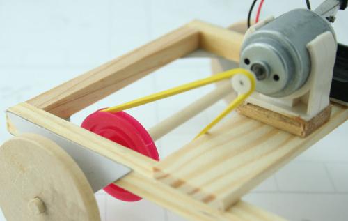 手工diy玩具模型 科技小发明 小制作材料 早教益智 电动跑车 书籍音像图片