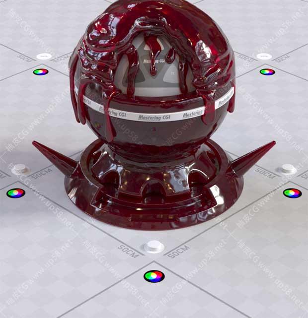 Corona for C4D灯光照明材质相机渲染全面训练高级视频教程