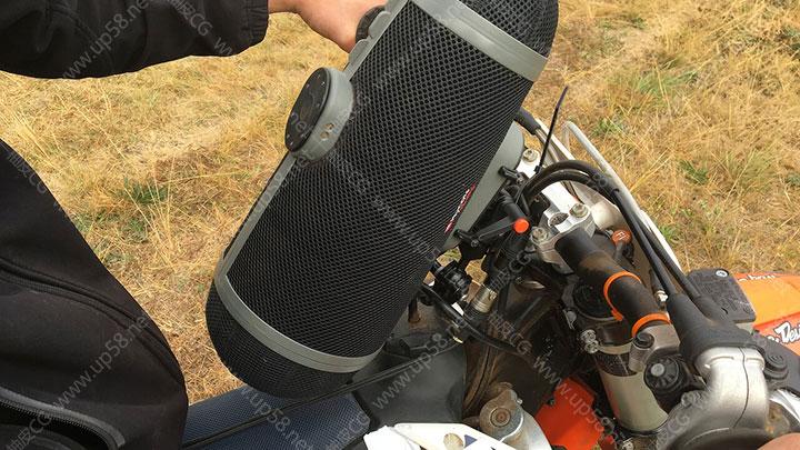 越野摩托车马达油门启动轰鸣怠速加速 影视后期音效合成素材库
