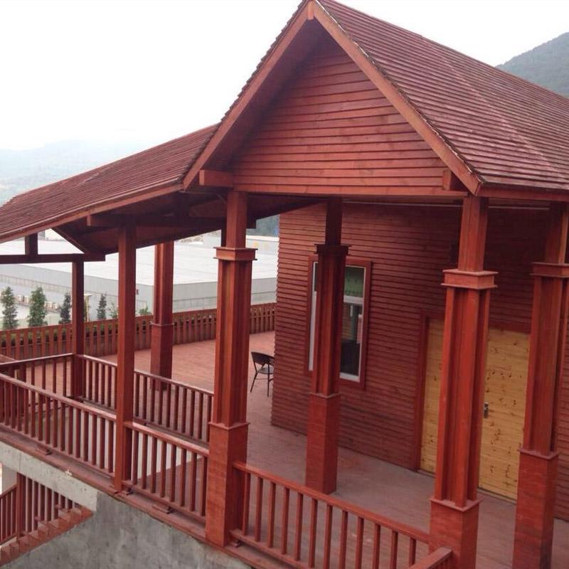 防腐木葡萄架 室外花架阳台露台塑木户外木屋庭院围栏 碳化木凉亭