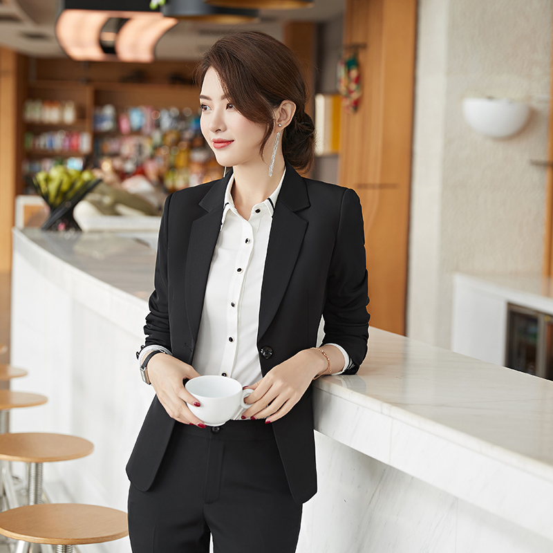 5576a95169 Small Suit Suit female Korean version of the work clothes 2018 New ol dress  host professional wear tooling jianban overalls
