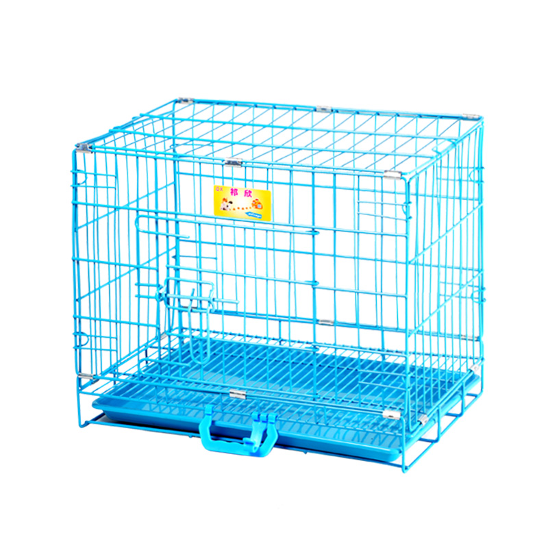 USD 22.05] Dog cages wire folding cat cages Dog fences pet rabbit ...
