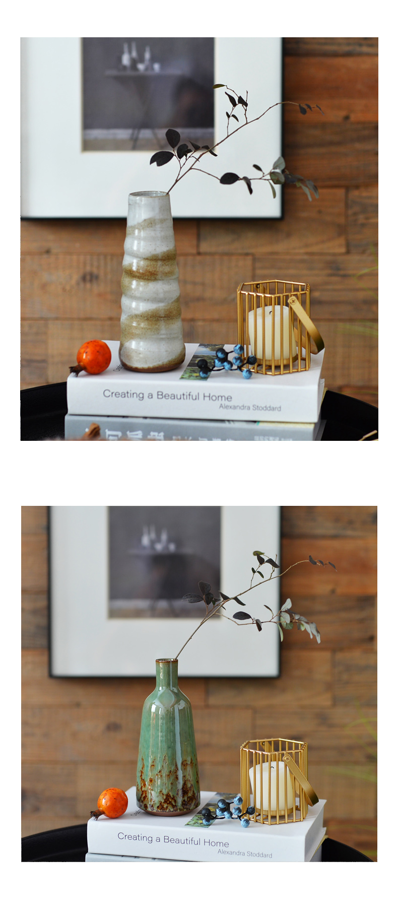 Ceramic hydroponic creative contracted desktop table floret bottle of the sitting room TV ark, dried flower arranging flowers adornment furnishing articles