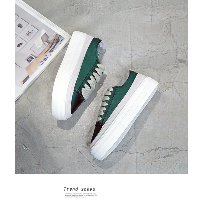 XWWDVV Spain niche shoes casual versatile canvas shoes new thick bottom flat white shoes women 55
