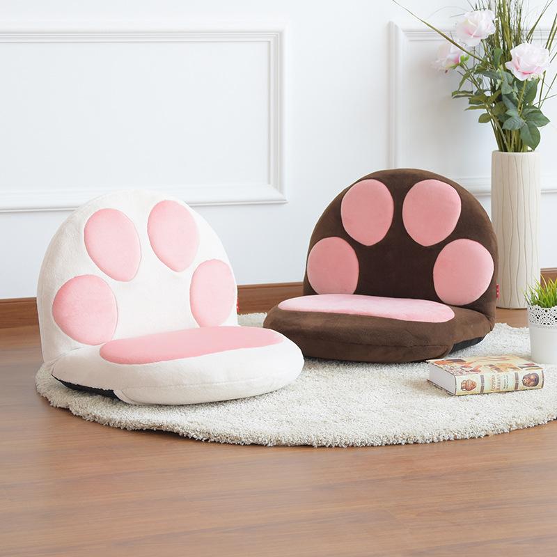 Phim hoạt hình Nhật Bản dành cho trẻ em lười biếng sofa có thể gập lại đệm đệm cửa sổ giường tựa lưng điều dưỡng eo ghế - Ghế đệm / đệm Sofa