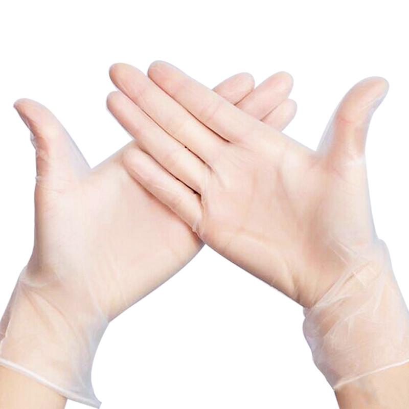 一次性食品级pvc乳胶手套70-100只