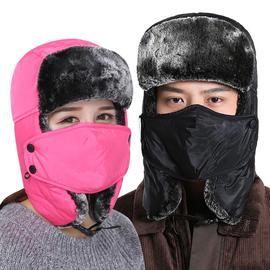男女雷锋帽冬户外防寒骑车防风棉帽