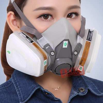 6200 gas mask paint special dust mask coal mine pesticide dust chemical industrial pesticide activated carbon mask