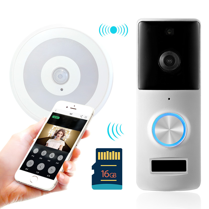 盈润佳 可视对讲门铃无线家用 夜视智能视频wifi远程监控摄像机_天猫超市优惠券