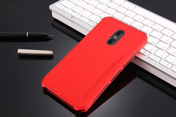 meet 3c1fa ad026 XIAOMI REDMI Note 4 4X Pro Element Solace Metal Bumper Case