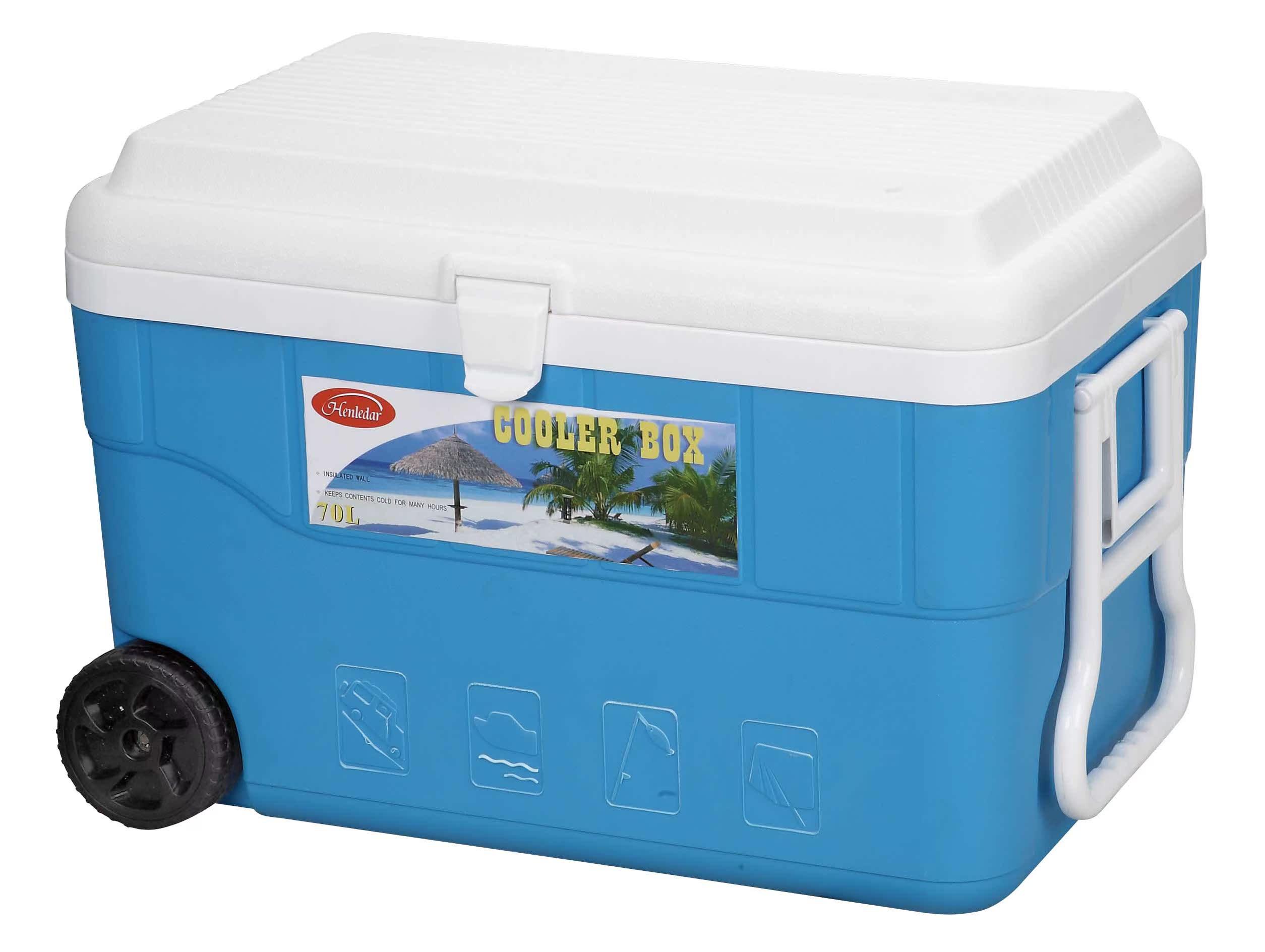 70/80L升超大PU保温箱保热 快餐外卖保温箱 海鲜运输箱冷藏周转箱