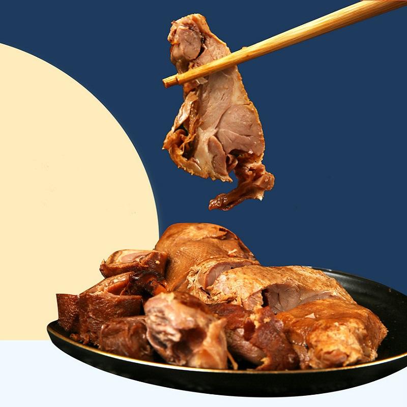 山林熟食酱鸭400g上海特色熟食卤味零食开袋即食