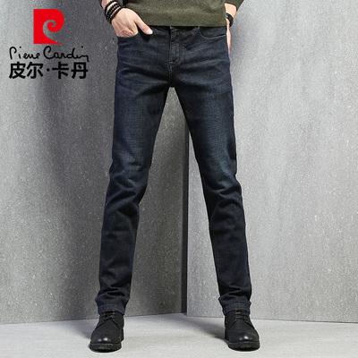 【国际品牌】皮尔卡丹男直筒牛仔裤
