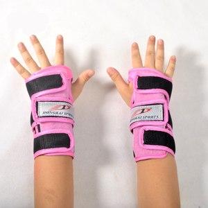 HK轮滑护掌护手护腕长板手套护具溜冰滑板成人儿童男女保护好安全