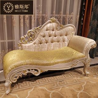 Софы,  Континентальный ткань королевский стул спальня красота диван высококачественный королевский диван шезлонг американский слишком императорская наложница стул дерево леди стул, цена 14936 руб