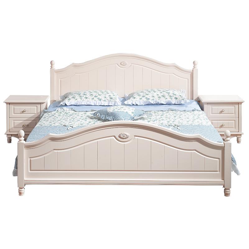 Кровать из массива дерева Mulan spring