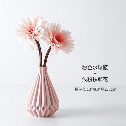 北欧仿真植物花艺小盆栽ins室内家居摆件客厅办公桌装饰假花创意