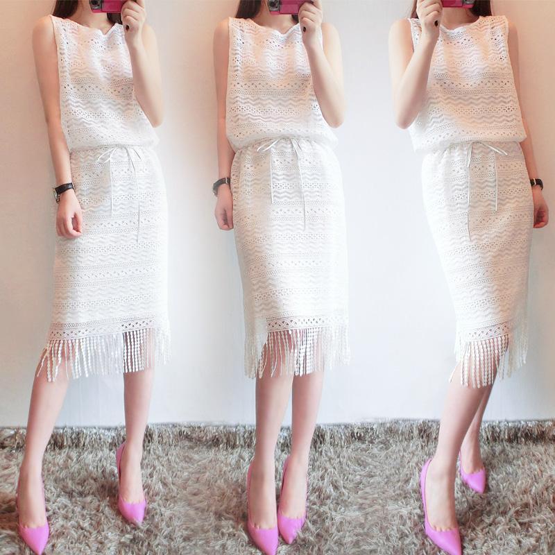 夏季胖mm韩国连衣裙女士吊带大码裙子夏装休闲宽松显瘦莫代尔长裙