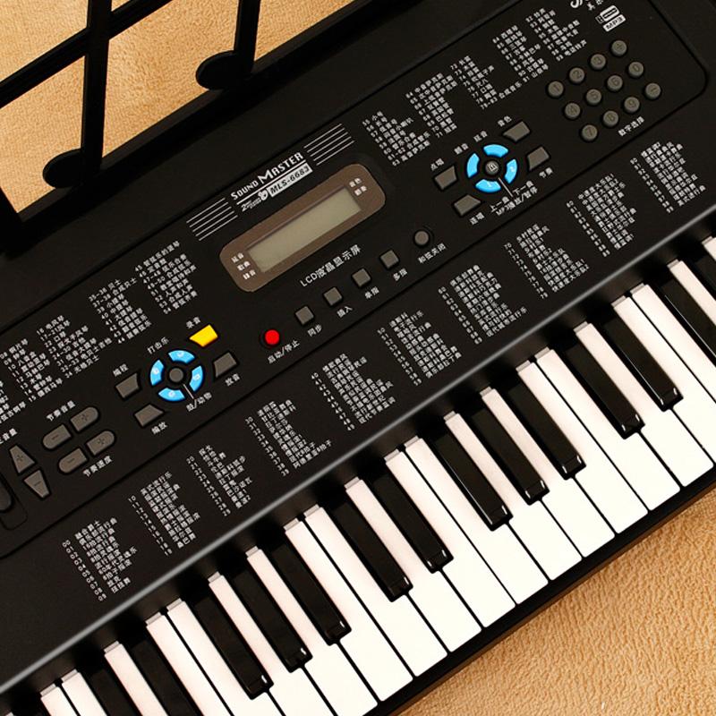 美乐斯多功能电子琴61键钢琴键成人初学入门儿童女孩初学幼师教学