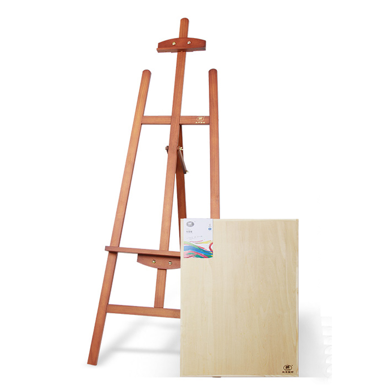 Professional Easel Wooden 1.45m Stand Adult Painting Frame Solid ...