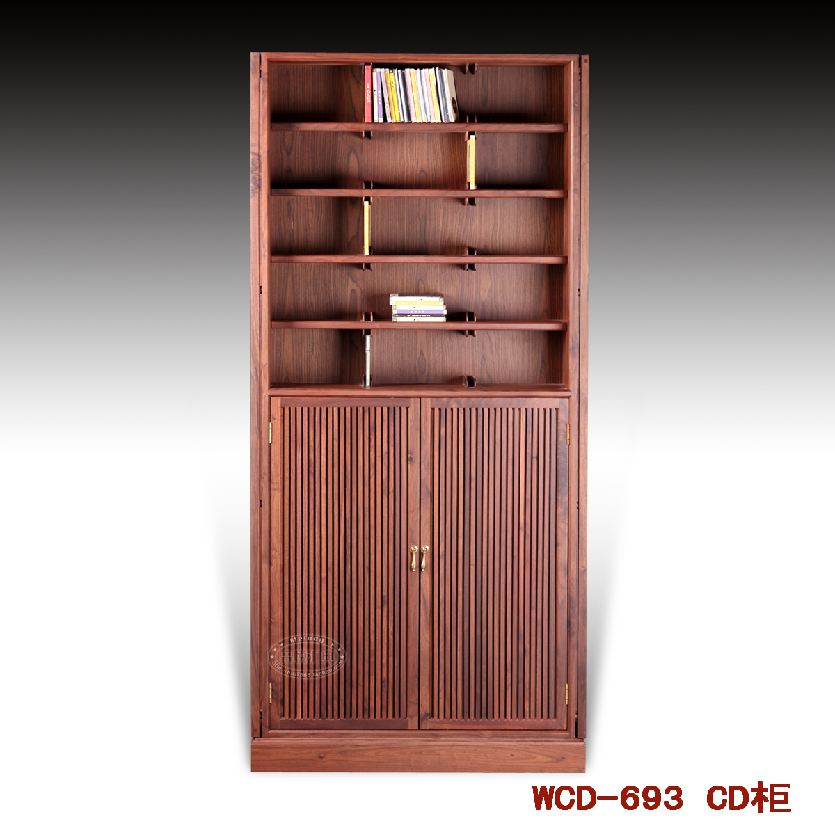 Yue Yuet Collection Wcd 693 Diffused Solid Wood Cd Cabinet Dvd Storage Record