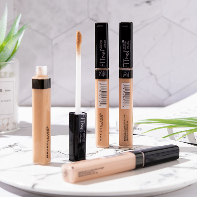 Maybelline fitme liquid concealer pen fit me light and moisture natural  cover dark circles acne spots