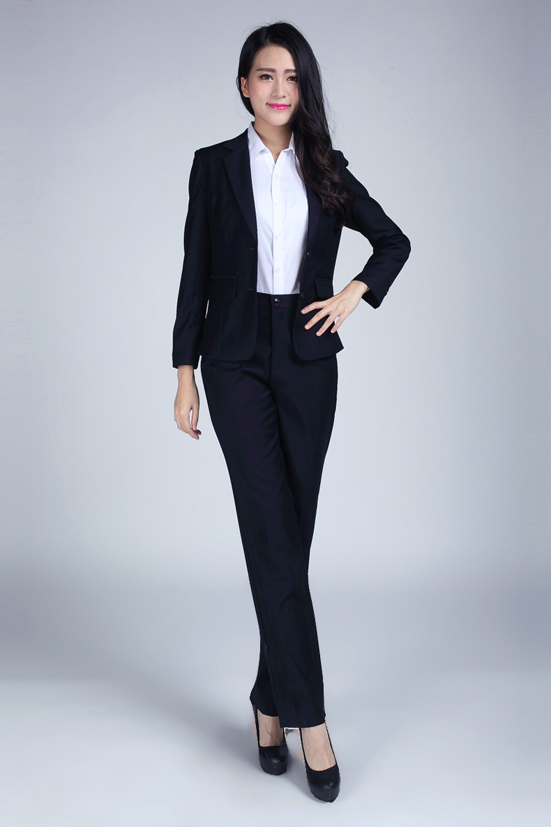 USD 39.66] Autumn and winter Korean version of women\'s suits female ...