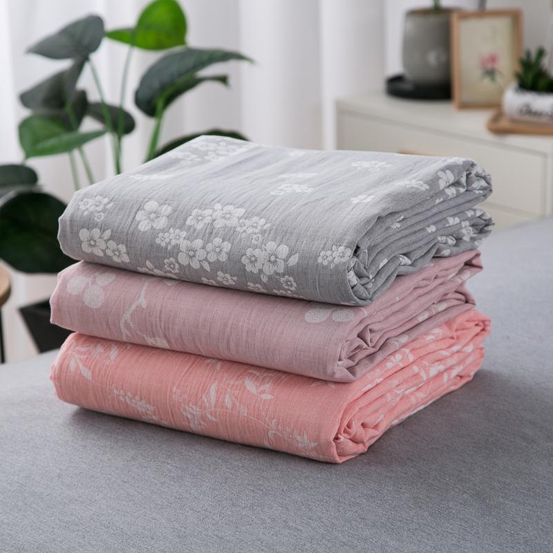 Tự giữ tiền ~ Bông đơn giường đôi đơn giường đôi hoa hồng Danh sách ngủ 1,5 / 1,8m giường ngủ tăng độ dày bông ngủ - Khăn trải giường