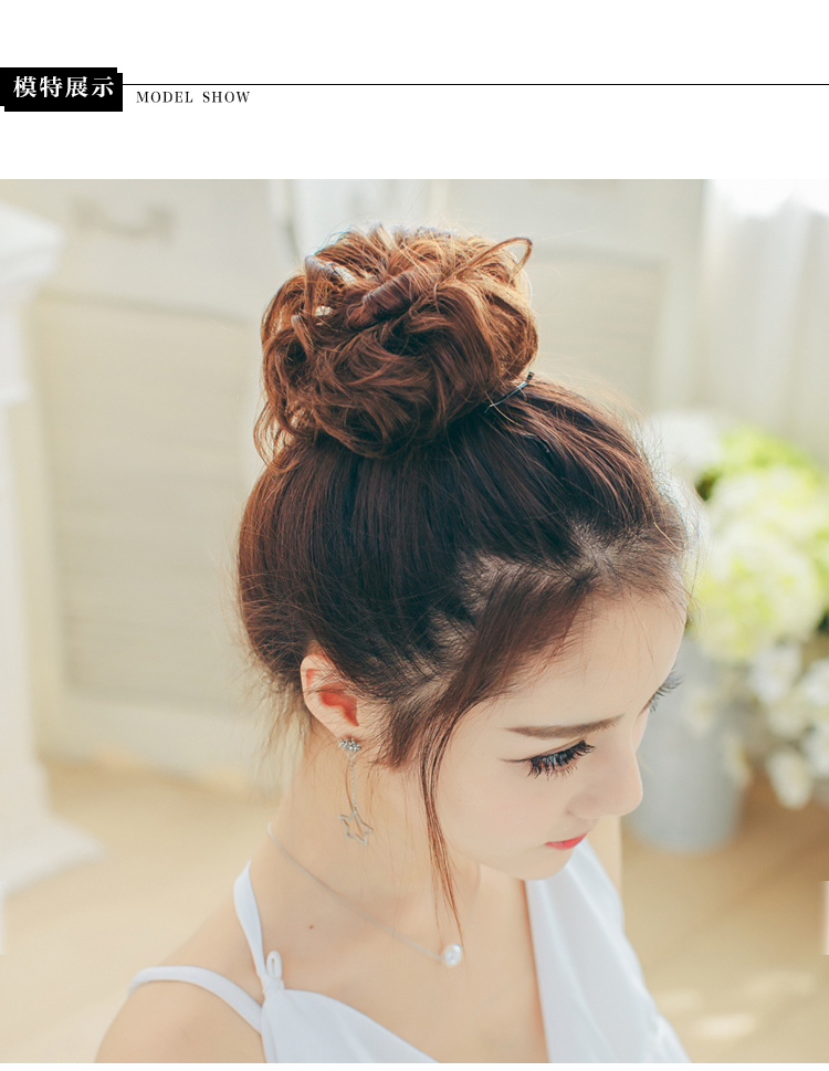 Extension cheveux - Chignon - Ref 227554 Image 28