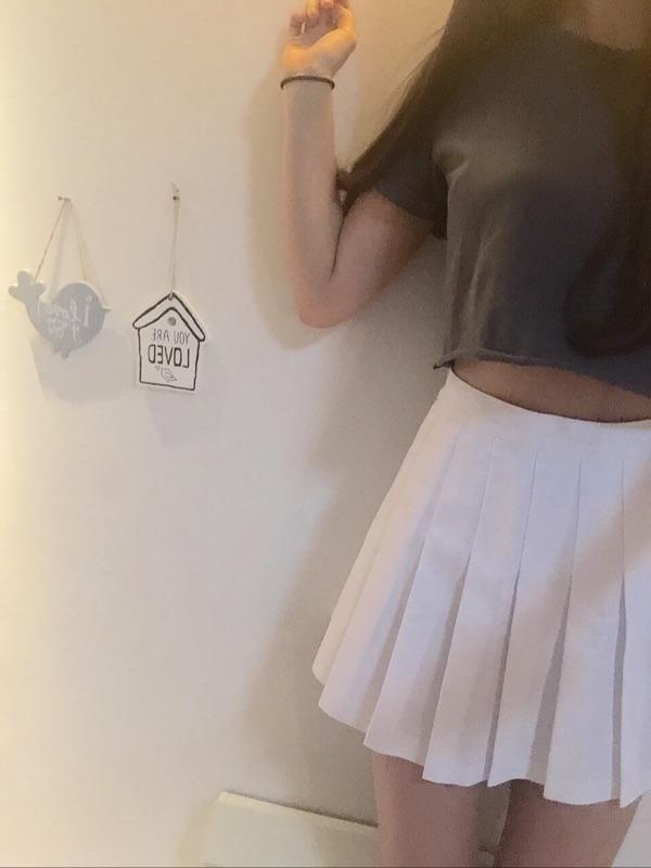 美国代购现货AOM American apparel/AA小F百褶网球裙小短裙
