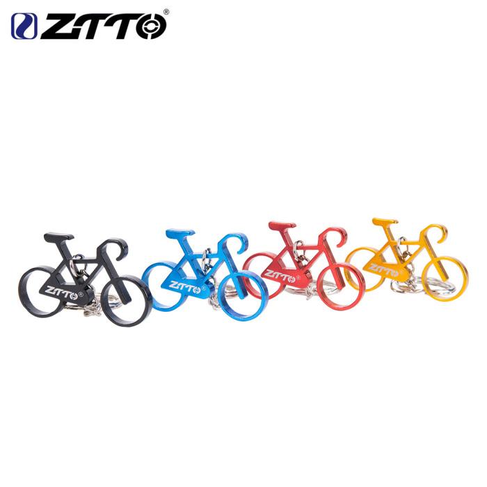 moto戶外 ZTTO\/迷你合金手指單車備用胎自行車模型bikes合金自行車模型掛件