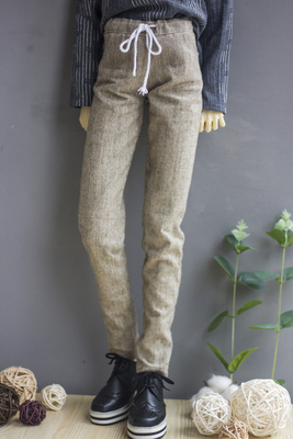 taobao agent ◆Bears◆BJD baby clothes A254 Small fresh casual home linen lace-up trousers 1/4&1/3&Uncle