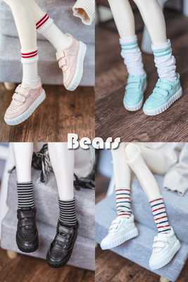 taobao agent 【Spot】◆Bears◆ Sole mold BJD Guaiguai brand thick-soled sports shoes sneakers 4 colors 1/3