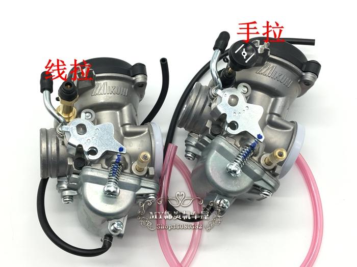 适用于摩托车配件钻豹HJ125K-2化油器GX125EN125-A/2A/3A化油器